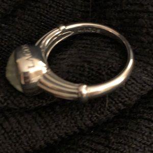 Lagos Venus 8x8 Ring white MOP/ Crystal Ring
